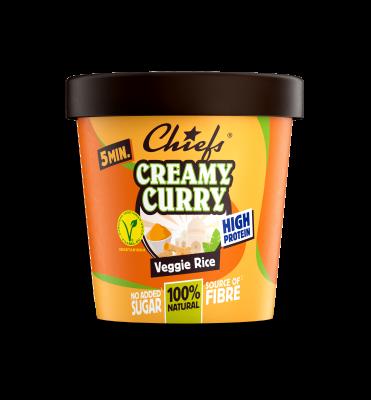 Creamy Curry – Veggie Rice CHIEFS 67GR